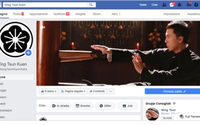 Wing Tsun Kuen Italia su facebook